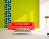 Wall Decals Mod Flower Pattern -  Vinyl Wall Sticker Art