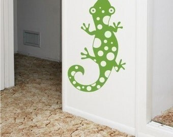 Wall Decals Spotty Lizard - Vinyl Wall Stickers Art Graphics
