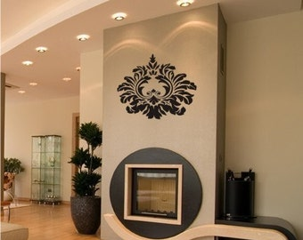 Baroque Wall Decal - Vinyl Stickers Art Graphics