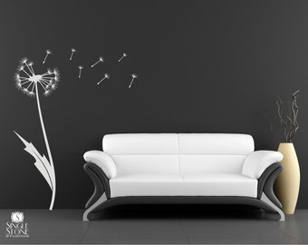 Dandelion Wall Decal - Vinyl Wall Stickers Art Graphics
