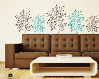 Stick Branches Wall Decals - Vinyl Wall Stickers Art Graphics