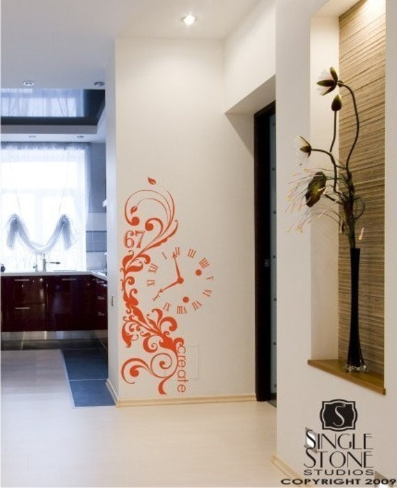 Graffiti Wall Decal - Vinyl Text Wall Words Stickers Art Graphics
