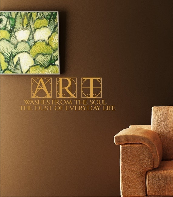 Wall Decal Quote Art Soul Life - Vinyl Text Wall Words Stickers Art Graphics