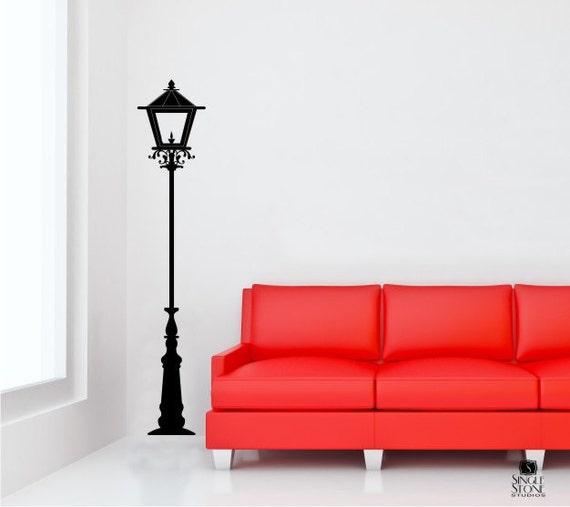 Items Similar To Street Lamp Wall Decal Light Lantern