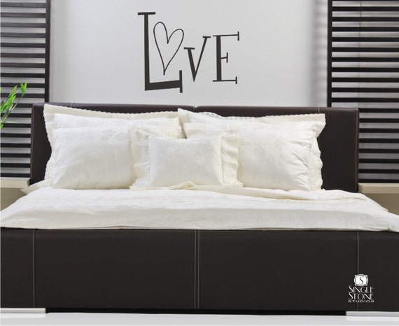 Love Wall Decal - Vinyl Wall Stickers Art Quote