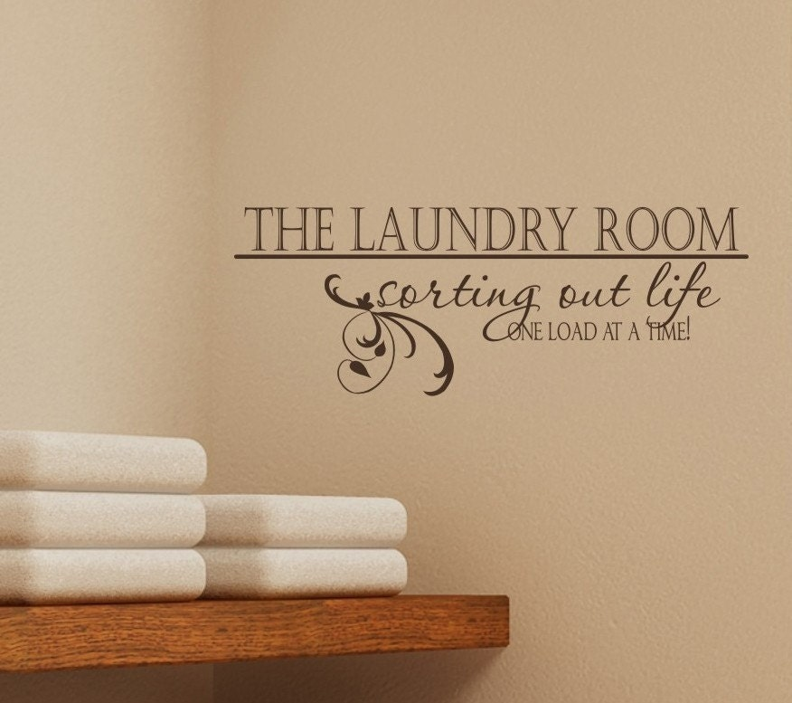laundry room sorting out life vinyl vinyl by laundry room wall decal drop your pants here utility room