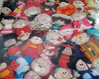 Japanese Craft Book How to Make Dolls Terumi Ootaka Otaka Treasure Box