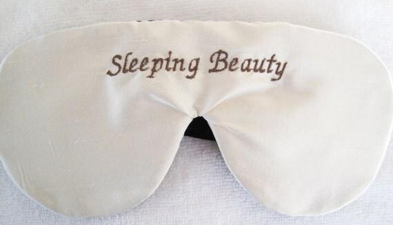 Luxury Silk Personalized Sleep Mask Eye Mask Fully Adjustable