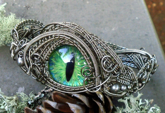 On Reserve for a Very Special Customer Steampunk Gothic Sable Size 9 Bracelet