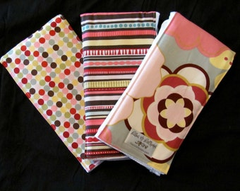 Burp Cloths - Kleo Sage Burpie Trio