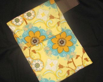 Sale 50% off Diaper Clutch - Yellow French Riviera Diaper Clutch with Pocket- Ready 2 Ship