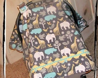 Carseat Canopy Sea Zoology