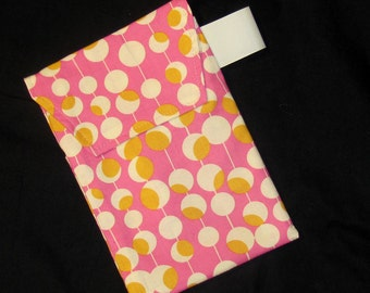 Sale!! 60% off - Fuchsia Martini Dot Diaper Clutch with a Pocket
