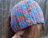 Crochet headband Dreadband Cowl