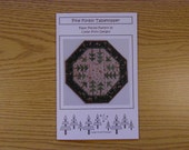 Pine Forest Table Topper Pattern (PN102)