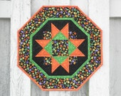 Quilted Star Table Topper - Halloween (HTTP)