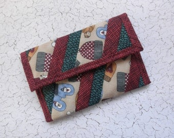 Quilted Coin Purse (CP069)