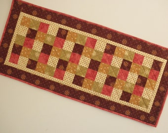 Quilted Table Runner -  Five Patch (EDTRS)