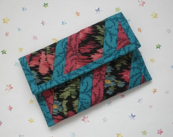 Quilted Coin Purse (CP071) Roses