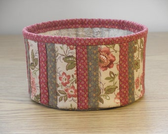 Quilted Fabric Bowl (EDbowlK)