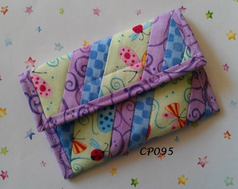 Quilted Coin Purse (CP095)