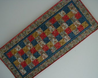 Quilted Table Runner - Five Patch (EDTRG)