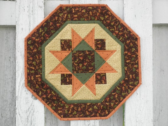 Quilted Star Table Topper - Fall (TGTTK)
