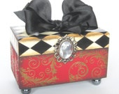 Trinket box Harlequin Keepsake Box