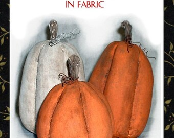 Primitive Folk Art Frost on the Pumpkin Instant Download PDF EPattern