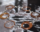Penny Doughnut Link Bracelet