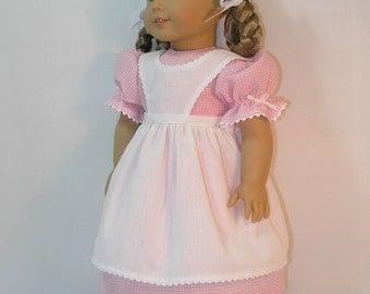 1854-1055, Birthday Dress for Amercan Girl Kirsten, 18 Inch Doll Clothing