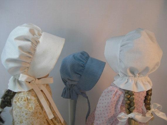1854SB  Sunbonnet for Kirsten or Other 18 Inch Dolls