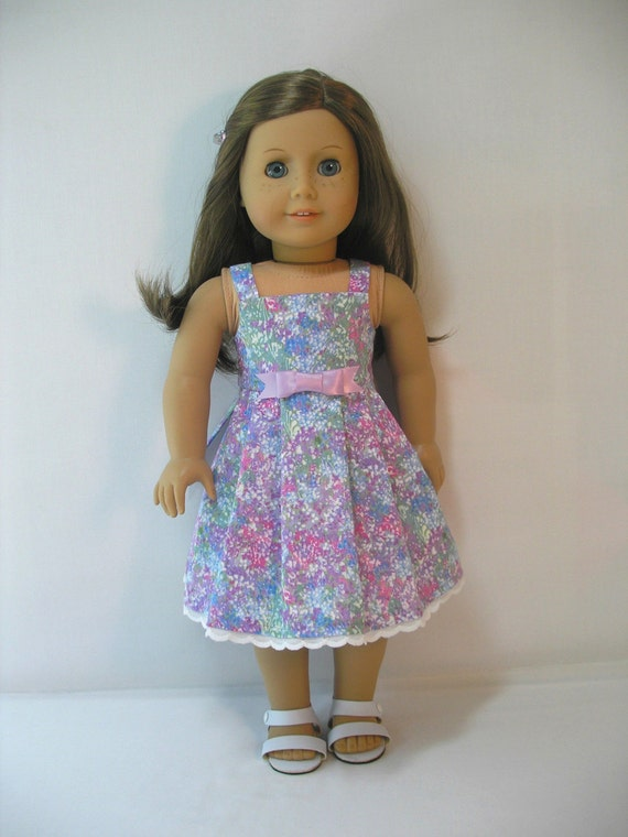 314 sale sundress for 18 inch american girl doll by terristouch. Black Bedroom Furniture Sets. Home Design Ideas