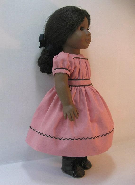 1864-1063  American Girl Addy 18 Inch Doll Dress