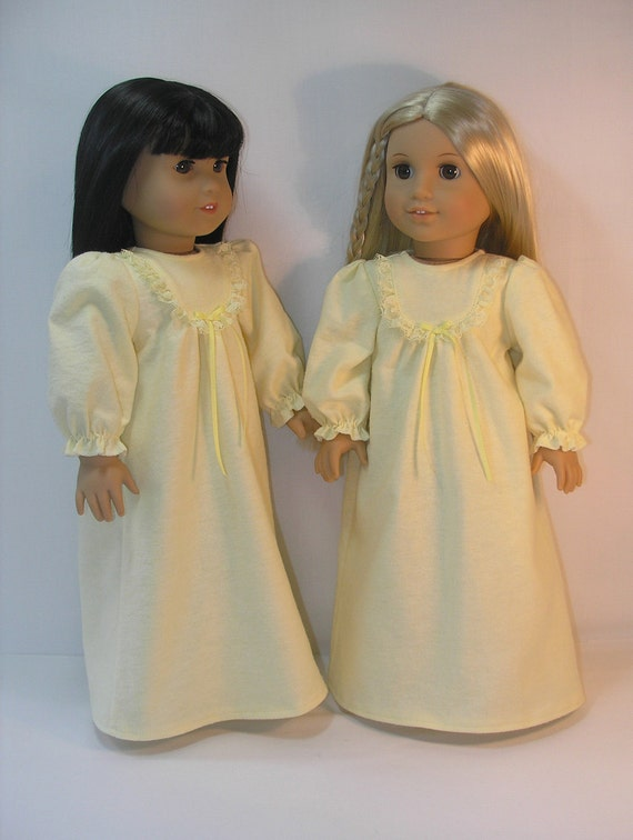 1974-4021 - American Girl 18 Inch Doll Clothes  Julie Nightgown