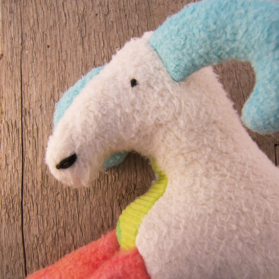 Eco Stuffed Animal Goat Doll Plush Toy