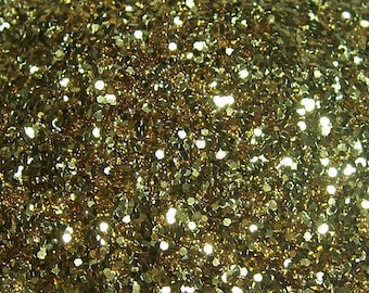 Gold color glitter 25 grams
