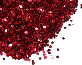 Red Glitter 25grams