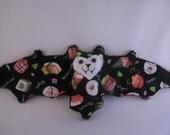 Sushi Bat Cup Sleeve/ Stuffed Animal/Coffee Cozie
