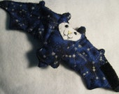 Constellation Bat with Names - Stuffed Animal, Cup Sleeve, Coffee Cozy