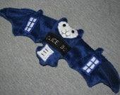 Doctor Who TARDIS Bat Cup Sleeve Stuffed Animal Plushie