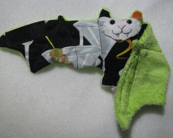 Green Martini Cocktail Bat Cup Sleeve, Coffee Cozy, Stuffed Animal