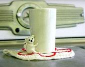 SALE-- Ceramic Koala Cup
