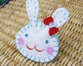 Shy bunny - Ponytail holder