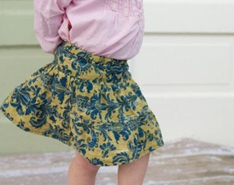 Girls and Womens 3 Layer Skirt PDF Sewing Pattern, beginner, instant download