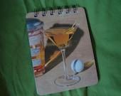 Golf Martini notepad