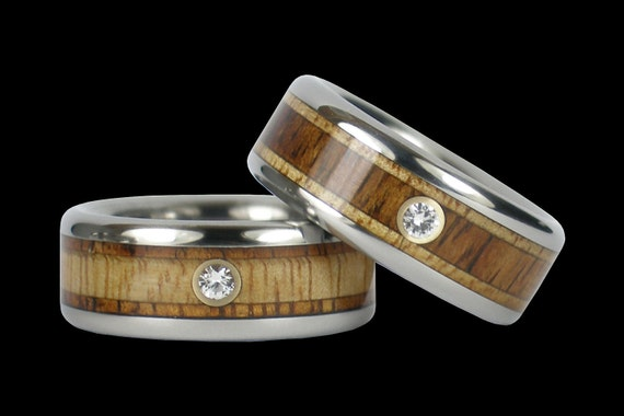 hawaiian titanium wedding ring set by hawaiititanium on etsy With hawaiian wedding rings sets