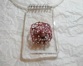 Caged Pearls Pendant