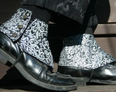 Startling Sterling Silver Steampunk Spats