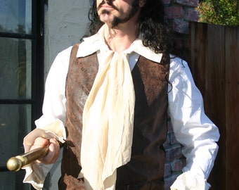 Men's White Pirate shirt